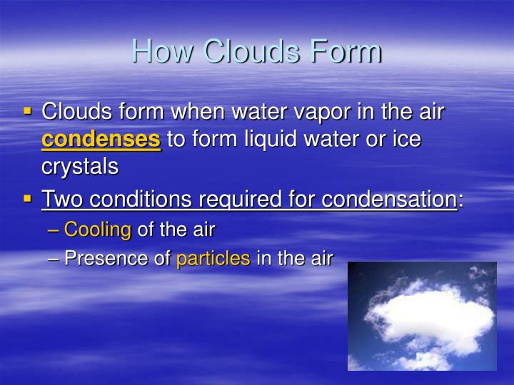 How Clouds Form