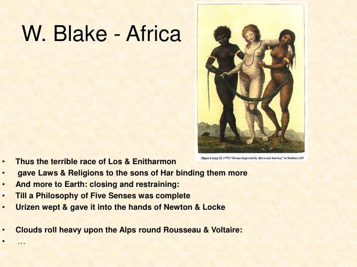 W. Blake - Africa