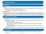 4 supplier bid costs