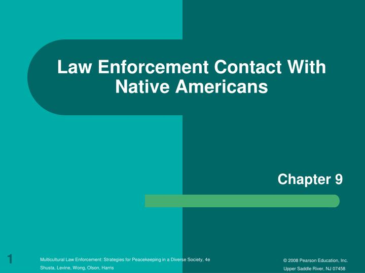 law enforcement contact with native americans n.