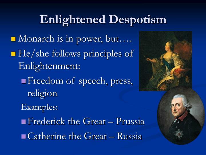 enlightened despot examples