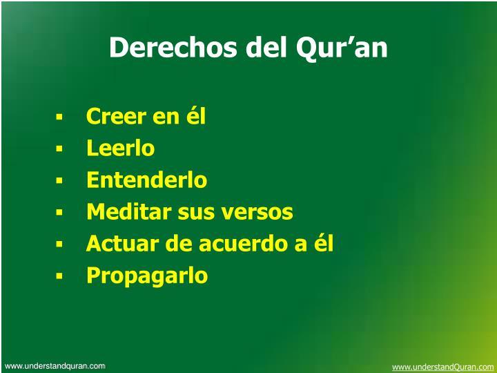 Derechos del Qur'an