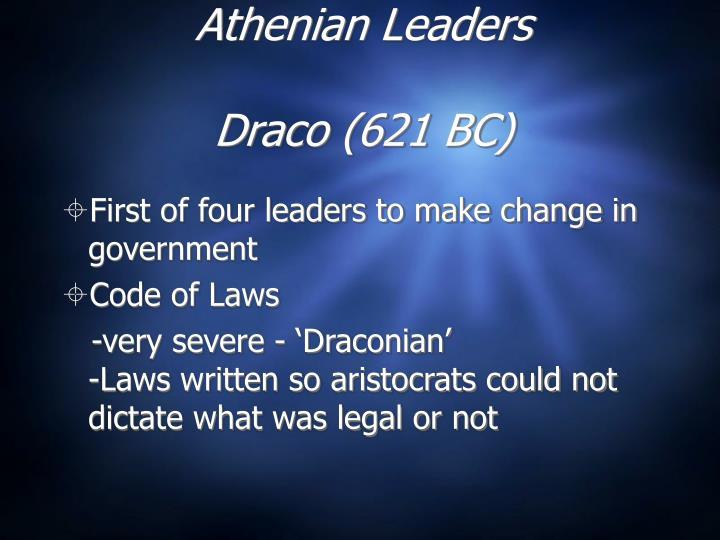 Athenian Leaders