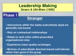 leadership making graen uhl bien 19951