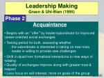 leadership making graen uhl bien 19952