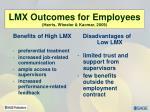 lmx outcomes for employees harris wheeler kacmar 2009