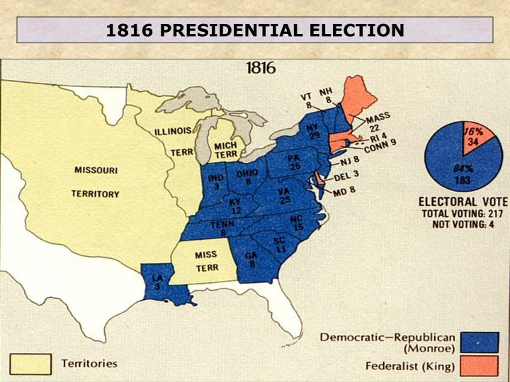 1816 PRESIDENTIAL ELECTION