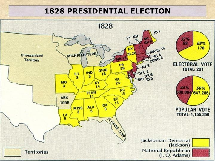 1828 PRESIDENTIAL ELECTION