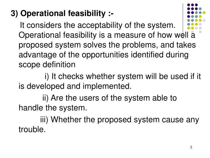 proposed system definition