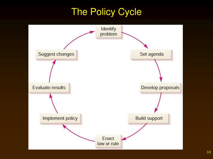 The Policy Cycle