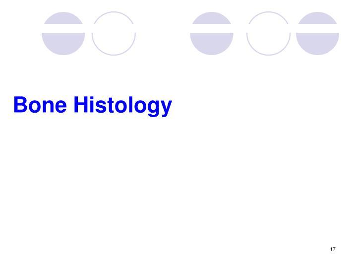 Bone Histology