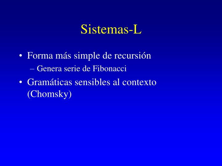 Sistemas-L
