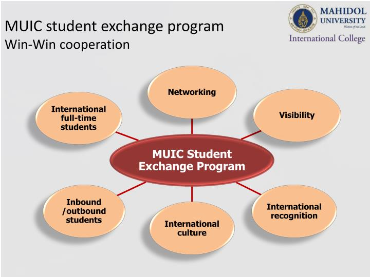 MUIC student exchange program