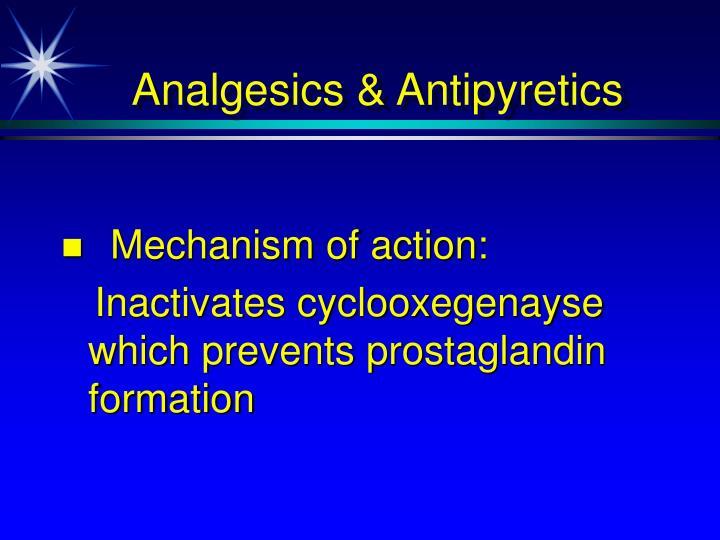 Analgesics & Antipyretics