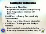cooking pot and science1