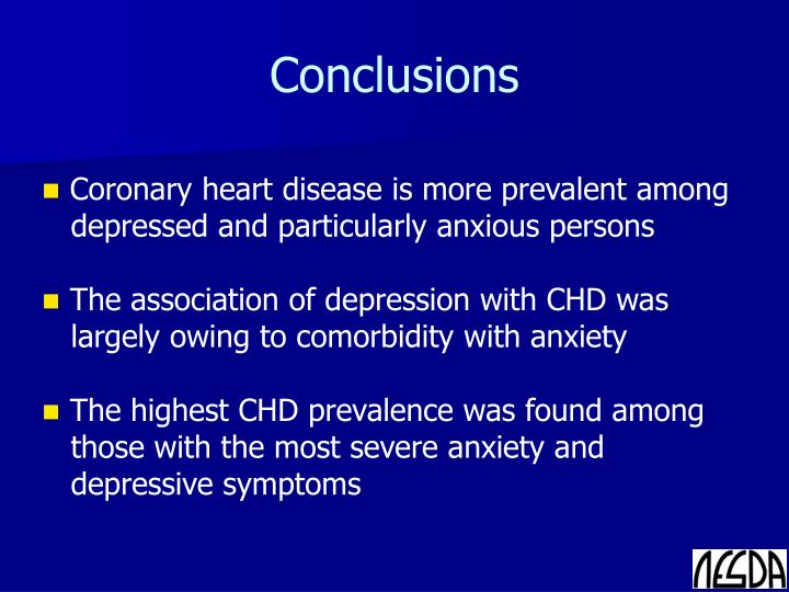 coronary heart disease conclusion