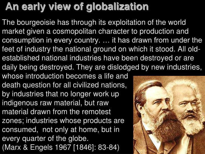 An early view of globalization