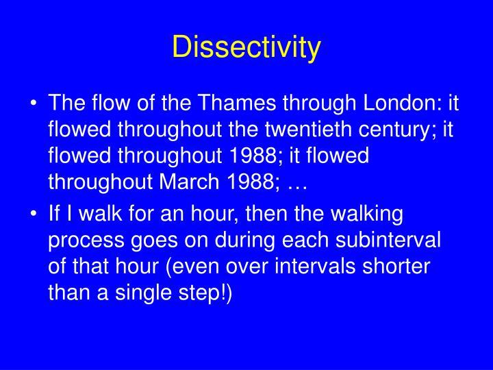 Dissectivity