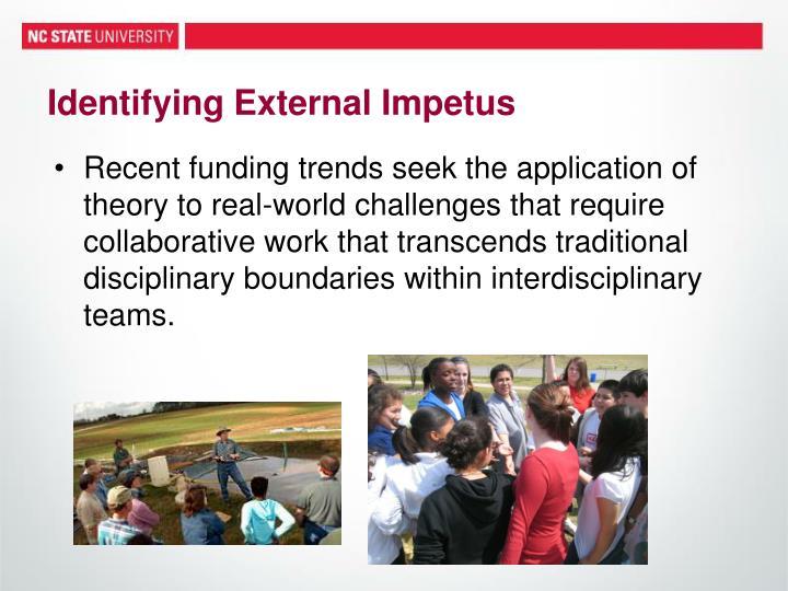 Identifying External Impetus