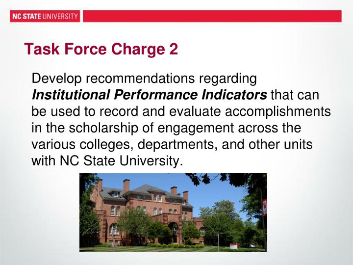 Task Force Charge 2