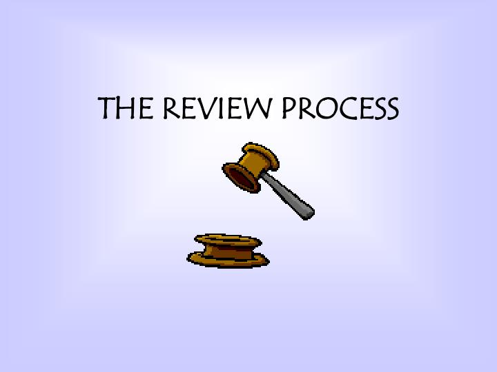 the review process n.