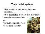 their belief system