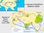 spread of buddhism 300bce 300ad