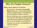 why do people divorce1