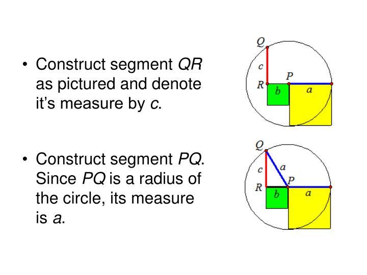 Construct segment