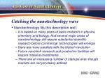 catching the nanotechnology wave2