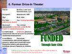 6 former drive in theater1