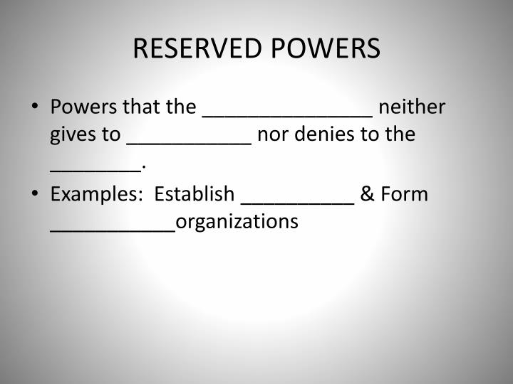 ppt - powers of the government powerpoint presentation - id:1716641