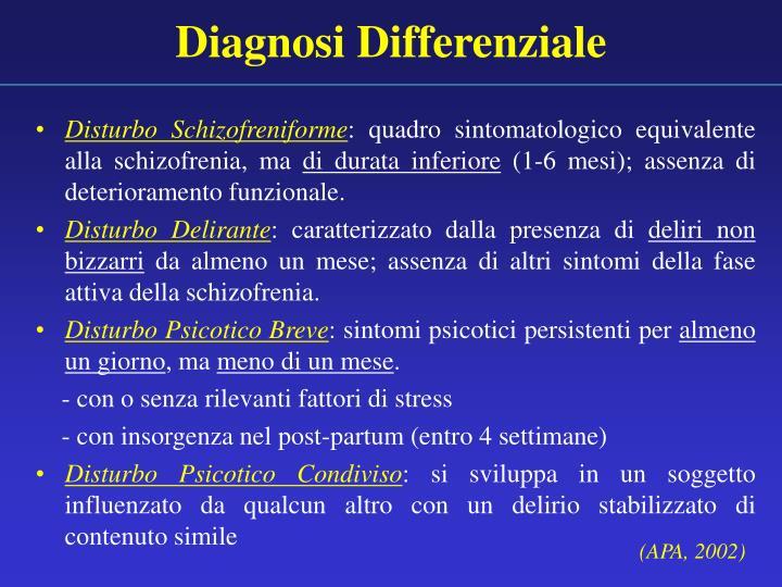 Diagnosi Differenziale