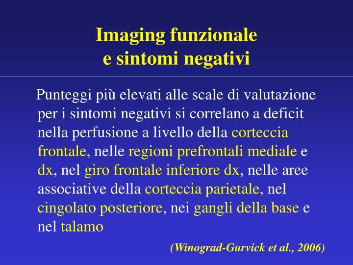 Imaging funzionale