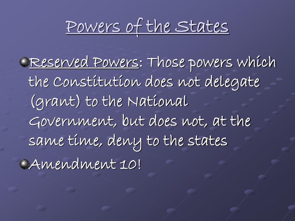 PPT - Chapter 4: Federalism PowerPoint Presentation, free ...