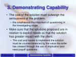 3 demonstrating capability1