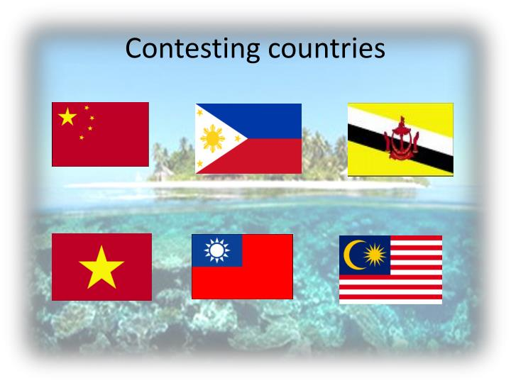 Contesting countries