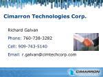 cimarron technologies corp