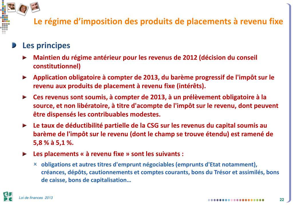 Ppt Loi De Finances 2013 Powerpoint Presentation Free