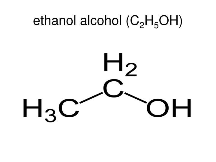 ethanol alcohol (C