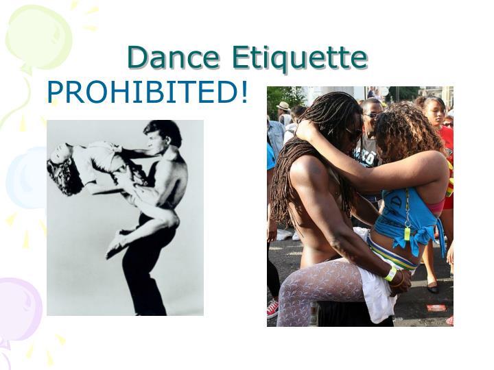 Dance Etiquette