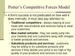 porter s competitive forces model1