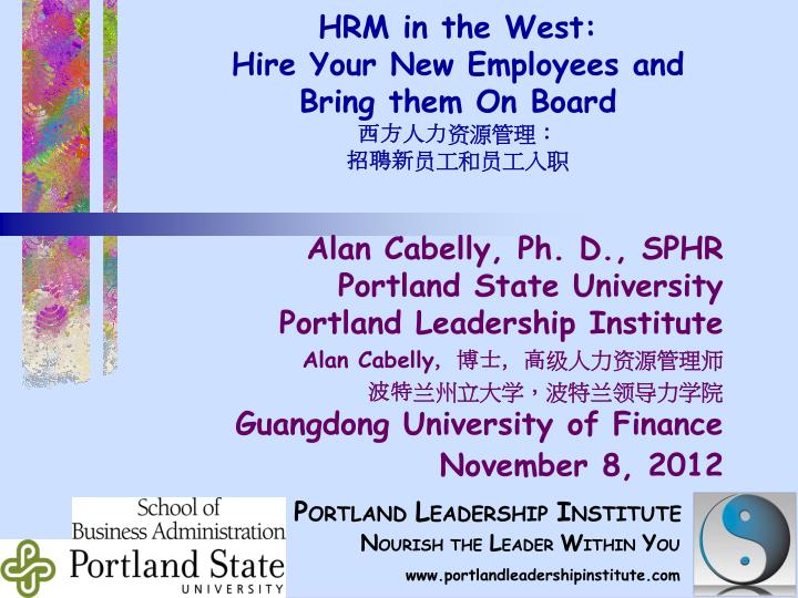 hrm in the west hire your new employees and bring them on board n.