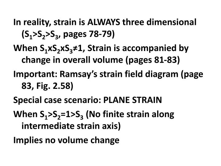 In reality, strain is ALWAYS three dimensional (S