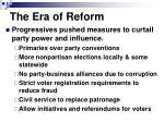 the era of reform