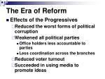 the era of reform1