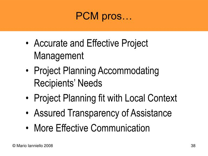 Accurate and Effective Project Management