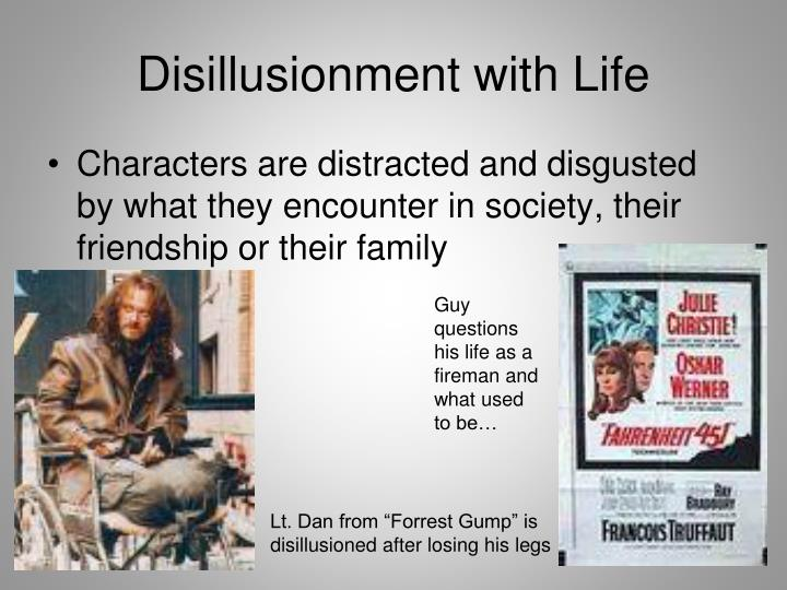 Disillusionment with Life