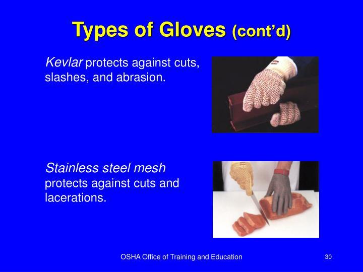 Types of Gloves