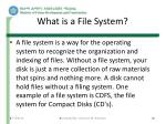 what is a file system